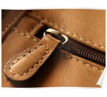 The Memory of Leather - Satchel Poster