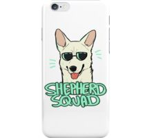 WHITE SHEPHERD SQUAD iPhone Case/Skin
