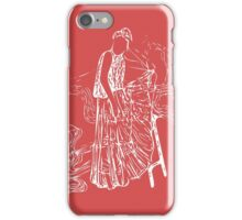 Girl on a Stool iPhone Case/Skin