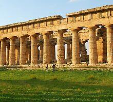 Tempio di Nettuno-Paestum,Italy by Deborah Downes