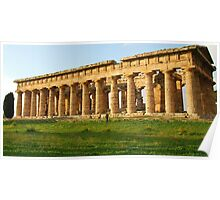 Tempio di Nettuno-Paestum,Italy Poster