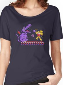 Pew Pew // Metroid Women's Relaxed Fit T-Shirt