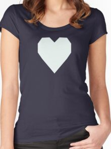 Mint Cream  Women's Fitted Scoop T-Shirt