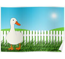The Waiting Duck Poster