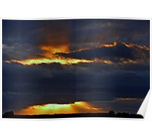 """""""Crepuscular Rays..."""" Poster"""