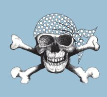 jolly roger bandana by Rosemary Scott