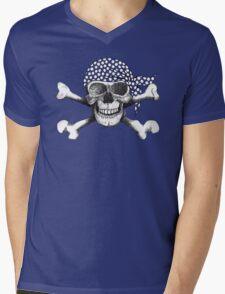 jolly roger bandana Mens V-Neck T-Shirt