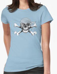 jolly roger bandana Womens Fitted T-Shirt