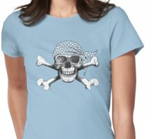 jolly roger bandana Womens Fitted T-Shirt