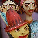 Shop Display, Jaiselmir, Rajasthan, India by RIYAZ POCKETWALA