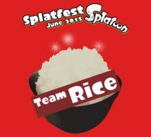 Splatfest Team Rice v.1 One Piece - Long Sleeve