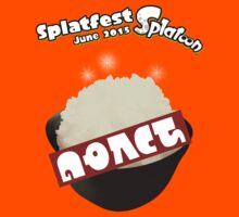 Splatfest Team Rice v.3 Kids Tee