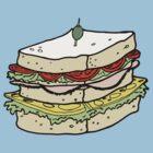 Big Sandwich by Roberto Castro Ruz