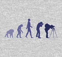 Purple Photographer Evolution Kids Clothes