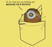 Pocket Potato GLaDOS Kids Clothes