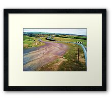 Sealed: old, worn with the new, celebrated Framed Print