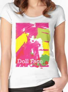 Doll Face 2 Women's Fitted Scoop T-Shirt