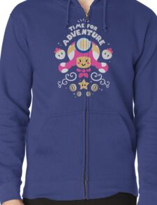 Time for Adventure Toadette Zipped Hoodie