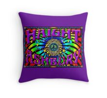 Haight Ashbury All Seeing Eye Throw Pillow