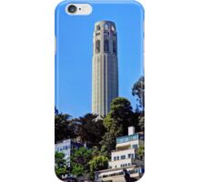 Coit Tower, San Francisco, California, USA iPhone Case/Skin