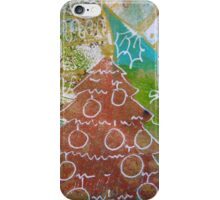 Xmas Card Design 8  iPhone Case/Skin