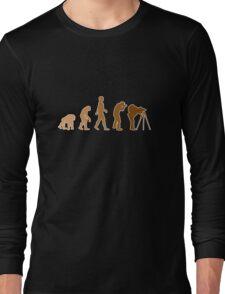 Earth Photographer Evolution Long Sleeve T-Shirt
