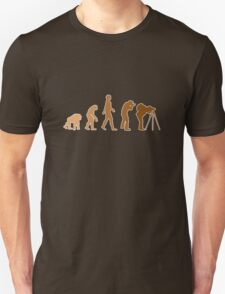 Earth Photographer Evolution Unisex T-Shirt