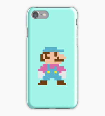 Cotton Candy Mario Sprite iPhone Case/Skin