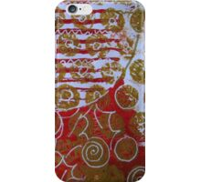 Xmas Card Design 7  iPhone Case/Skin