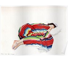 The Mexican Blanket Poster