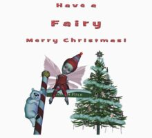 Have A Fairy Merry Christmas! Shirts & Stickers Kids Clothes