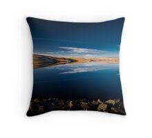 Balderhead Blue Throw Pillow