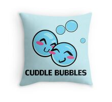 Cuddle Bubbles Throw Pillow