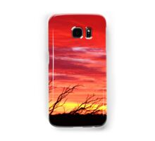 Fiery Sunset Samsung Galaxy Case/Skin