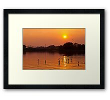 The Golden Hour#3 Framed Print