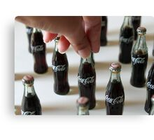 Coke Craze Canvas Print