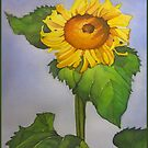 Sunflower and Summer sky by Greg  Marquez