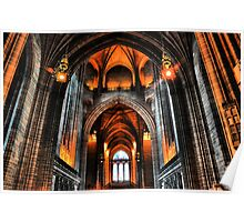 Liverpool's Anglican Cathedral Poster