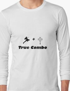 Knee to DTaunt (True Combo) Long Sleeve T-Shirt