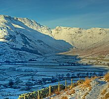 A Winter's Day in Langdale by VoluntaryRanger