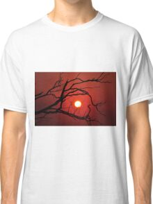 13th of May 2011  Fiery Sunset Classic T-Shirt