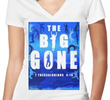 The Big Gone Women's Fitted V-Neck T-Shirt