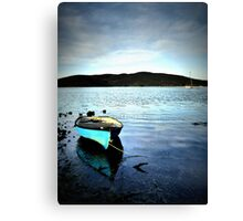 Perfect Blue Morning Canvas Print