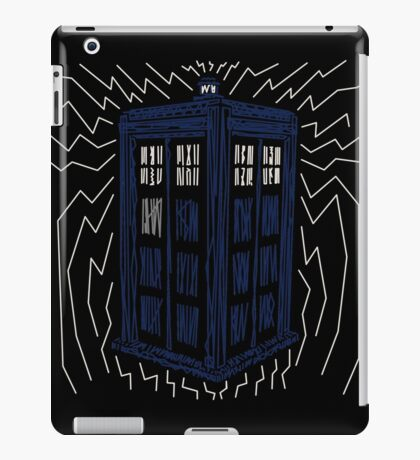 Two Dimensions in Space iPad Case/Skin