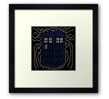 Two Dimensions in Space Framed Print