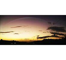 Lights the sky Photographic Print