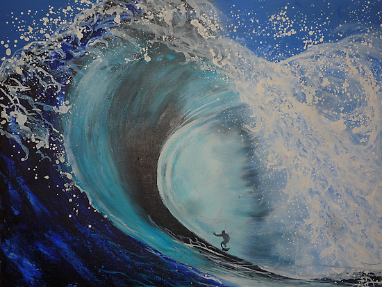 The Big Wave by Eve Monteiro