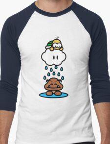 Raindrops keep falling on my head Men's Baseball ¾ T-Shirt