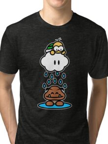 Raindrops keep falling on my head Tri-blend T-Shirt