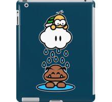 Raindrops keep falling on my head iPad Case/Skin